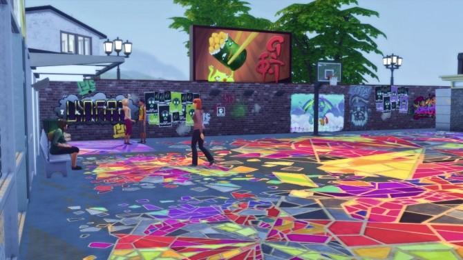 Sims 4 Basket Park ReB by tsukasa31 at Mod The Sims