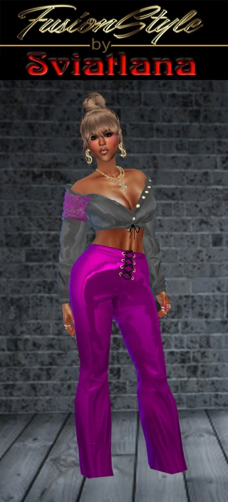 Sims 4 Silk Suit at FusionStyle by Sviatlana