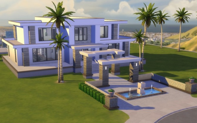Modern Hills house No CC by govier at Mod The Sims image 7716 670x419 Sims 4 Updates