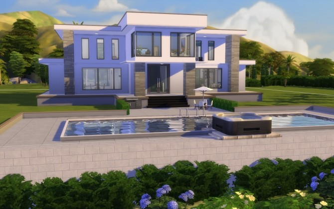 Modern Hills house No CC by govier at Mod The Sims image 7817 670x419 Sims 4 Updates