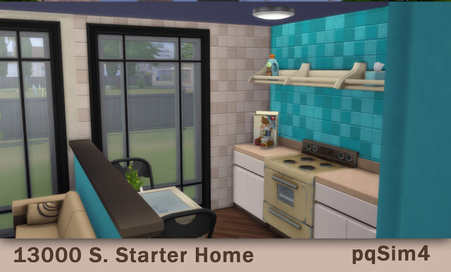 Sims 4 Starter Home at pqSims4