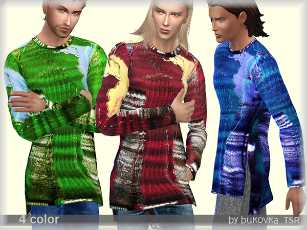Elongated Sweater by bukovka at TSR image 784 Sims 4 Updates