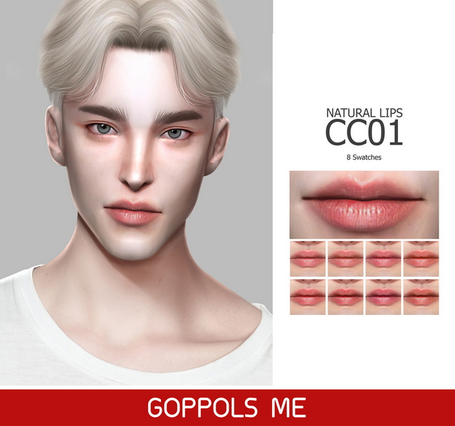 GPME Natural Lips CC01 at GOPPOLS Me image 8011 Sims 4 Updates