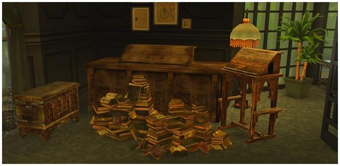 Scriptorium Set at Josie Simblr image 8013 670x328 Sims 4 Updates