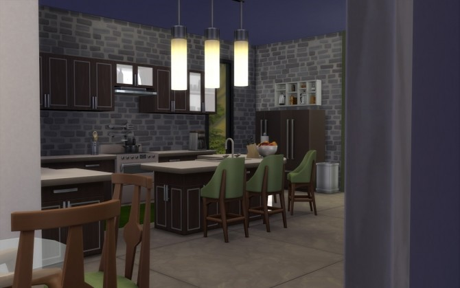 Sims 4 Modern Hills house No CC by govier at Mod The Sims