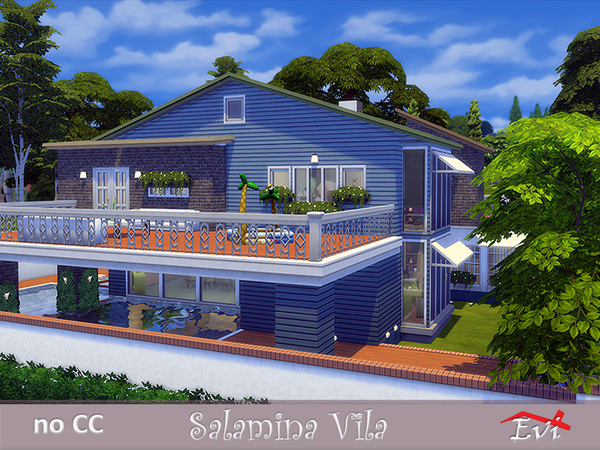 Salamina Villa by evi at TSR image 8108 Sims 4 Updates