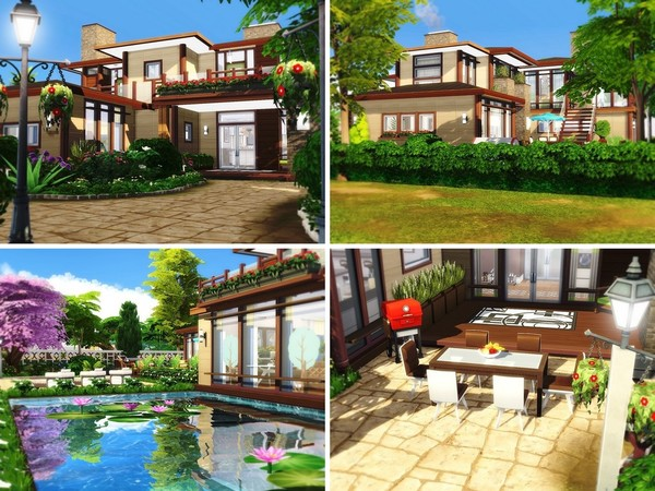 Grace house by MychQQQ at TSR image 818 Sims 4 Updates