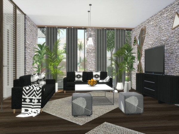 Araceli modern home by Suzz86 at TSR image 820 Sims 4 Updates