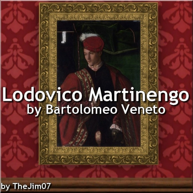 Portrait of Lodovico Martinengo by TheJim07 at Mod The Sims image 8212 670x670 Sims 4 Updates