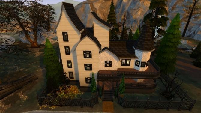 Sims 4 Casa Dalho Halloween by iSandor at Mod The Sims