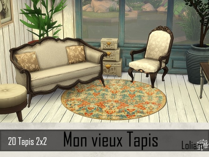 My old rugs by Loliam at Sims Artists image 836 670x503 Sims 4 Updates