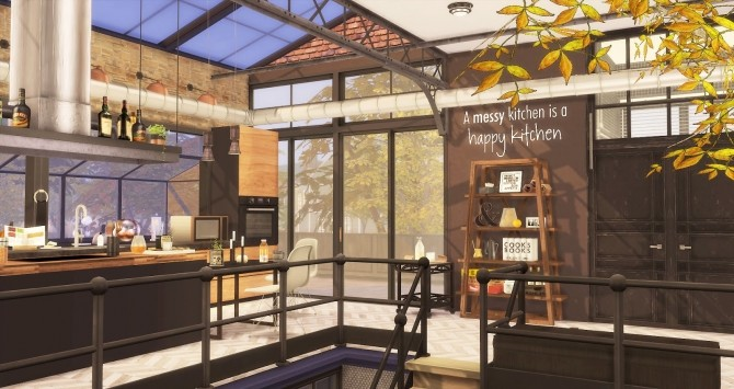 The Man Cave by RubyRed at Ruby's Home Design image 840 670x355 Sims 4 Updates