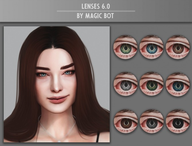 Sims 4 Lenses 6.0 at Magic bot