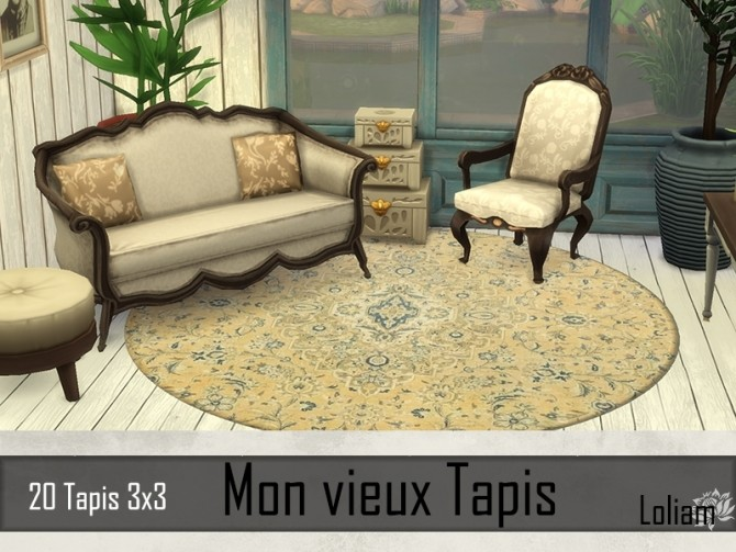 My old rugs by Loliam at Sims Artists image 846 670x503 Sims 4 Updates