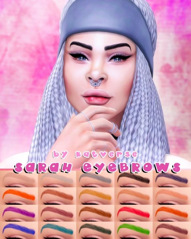 Sims 4 Sarah Eyebrows at Katverse