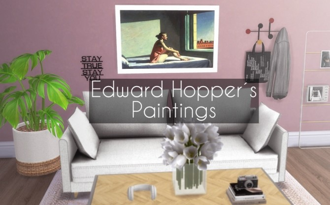 Sims 4 Edward Hopper´s Paintings at Descargas Sims