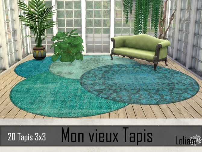 My old rugs by Loliam at Sims Artists image 856 670x503 Sims 4 Updates