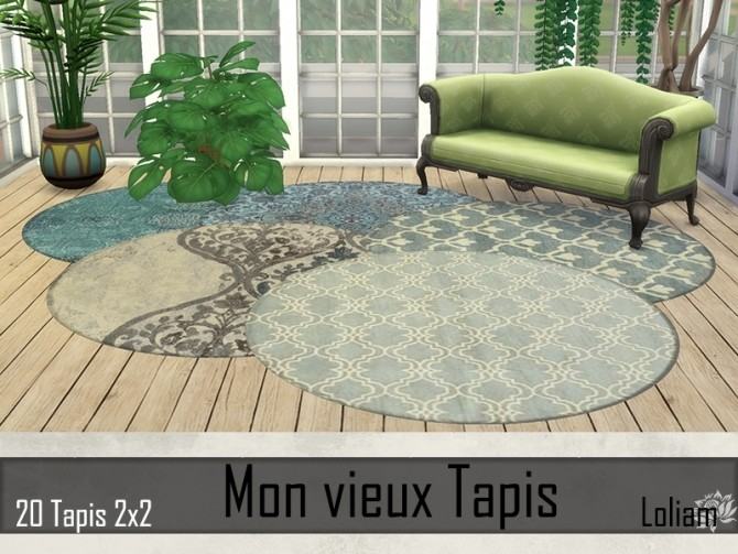 My old rugs by Loliam at Sims Artists image 866 670x503 Sims 4 Updates