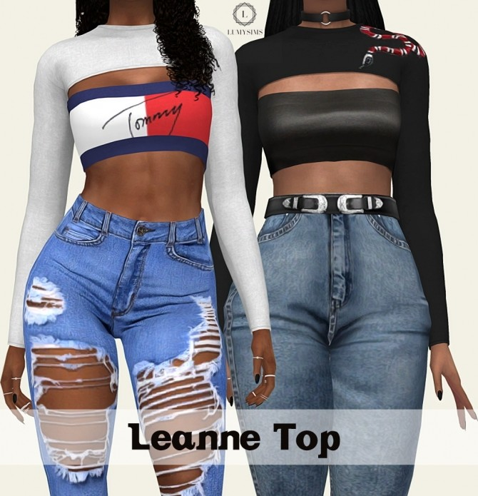 Leanne Top at Lumy Sims image 8712 670x695 Sims 4 Updates