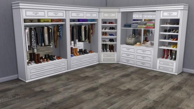 Sims 4 Walk in closet at Alial Sim