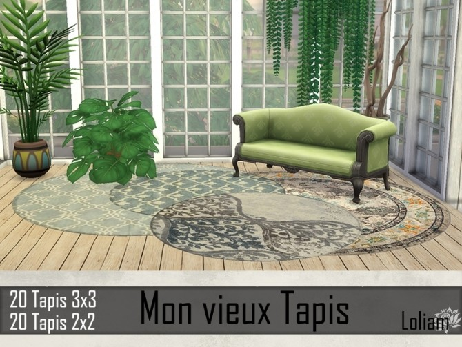 My old rugs by Loliam at Sims Artists image 886 670x503 Sims 4 Updates