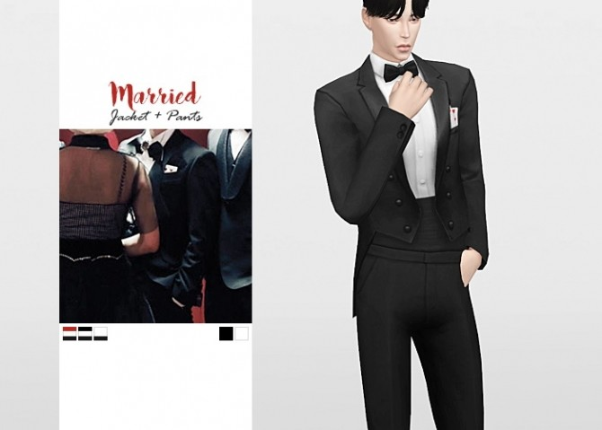 Married Jacket + Pants at Waekey image 8911 670x479 Sims 4 Updates