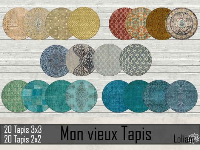 My old rugs by Loliam at Sims Artists image 896 670x503 Sims 4 Updates