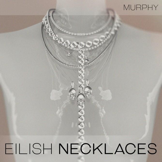 Sims 4 Eilish Necklaces by Victoria Kelmann at MURPHY
