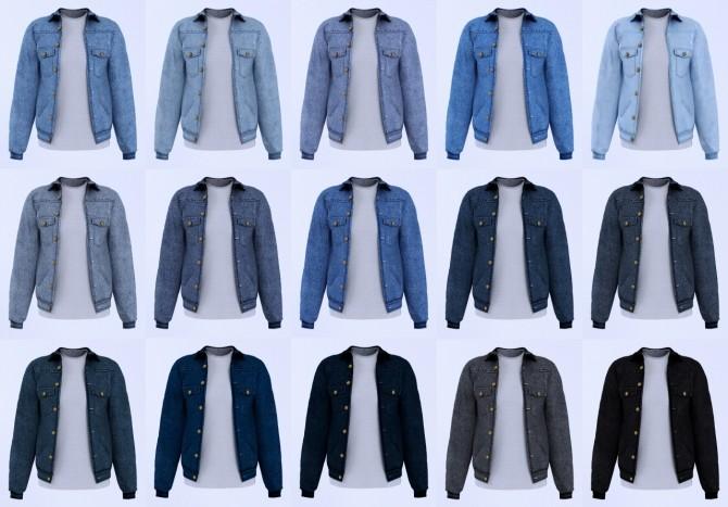 Denim jacket at LazyEyelids image 9120 670x467 Sims 4 Updates