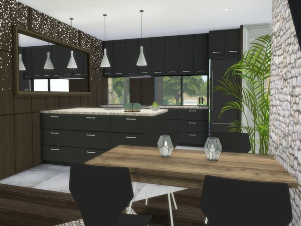 Araceli modern home by Suzz86 at TSR image 920 Sims 4 Updates