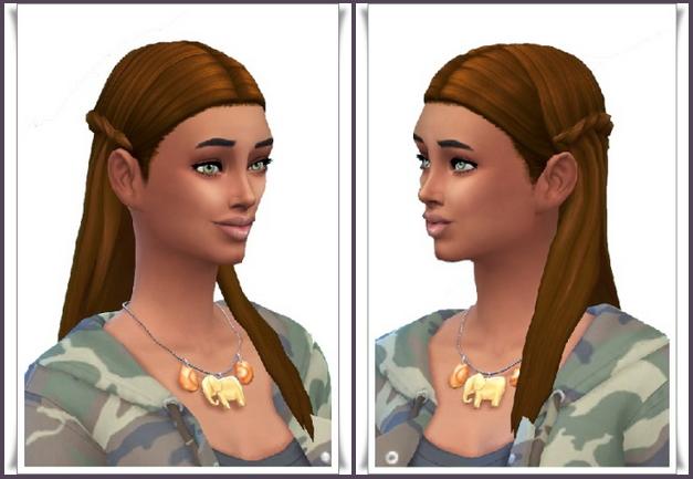 Sims 4 Estelle's Braid Hair at Birksches Sims Blog