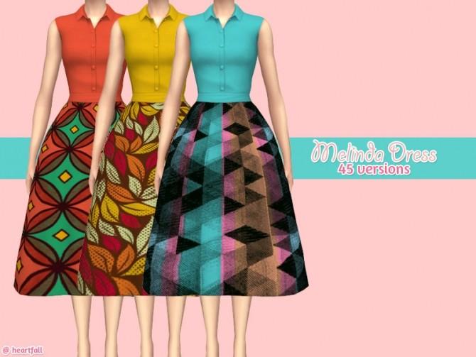 Melinda dress at Heartfall image 9411 670x503 Sims 4 Updates