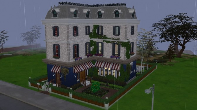 Sims 4 Ex Little Corsican Bistro by kinglauti at Mod The Sims