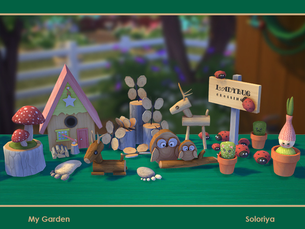 My Garden set by soloriya at TSR image 964 Sims 4 Updates