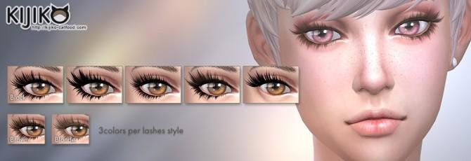 3D Lashes Update at Kijiko image 9715 670x230 Sims 4 Updates