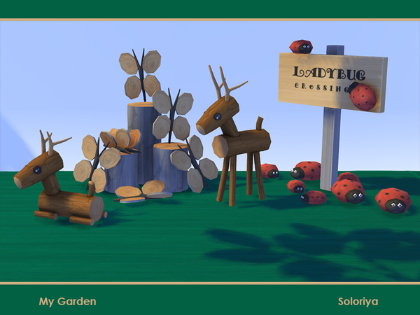 My Garden set by soloriya at TSR image 974 Sims 4 Updates