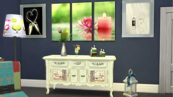 Cocktails and Candlelight by Ivyrose at Blooming Rosy image 982 670x376 Sims 4 Updates
