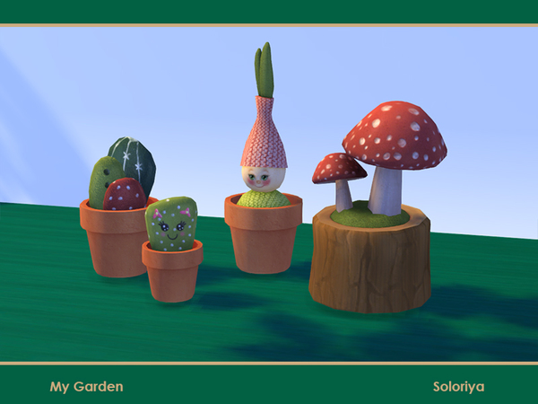 My Garden set by soloriya at TSR image 983 Sims 4 Updates