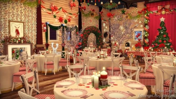 Christmas Wedding venue at Frau Engel image 1003 670x377 Sims 4 Updates