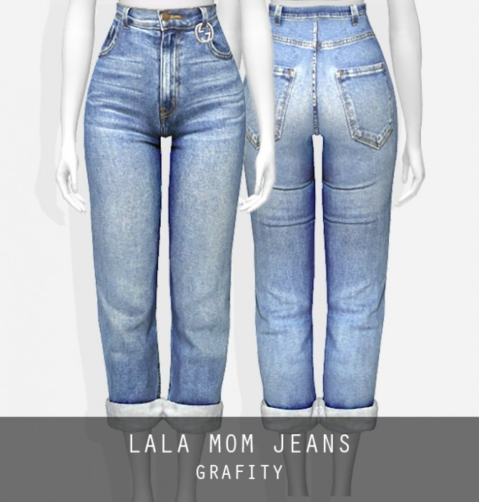 Lala Jeans P At Grafity Cc 187 Sims 4 Updates