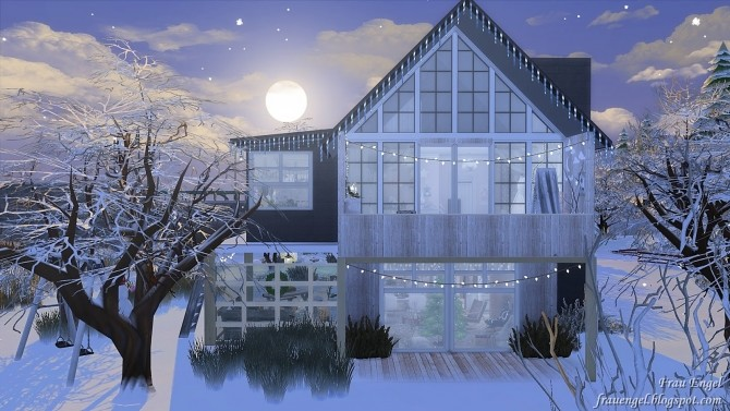 Christmas Street at Frau Engel image 1031 670x377 Sims 4 Updates