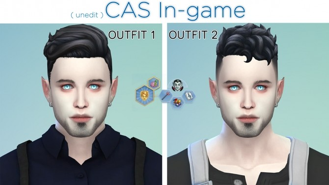 Sims 4 Luther Elderwood by Genji Takaya at Mod The Sims