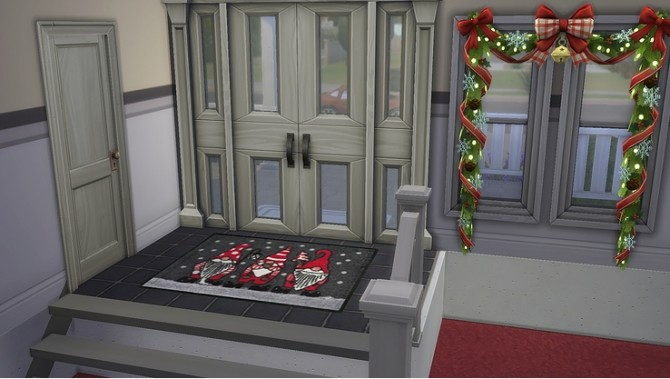 Its Christmas time! festive rug and canvas by Ivyrose at Blooming Rosy image 10313 670x379 Sims 4 Updates