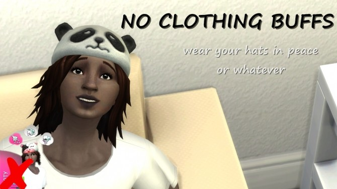 Sims 4 No Clothing Buffs by lemememeringue at Mod The Sims