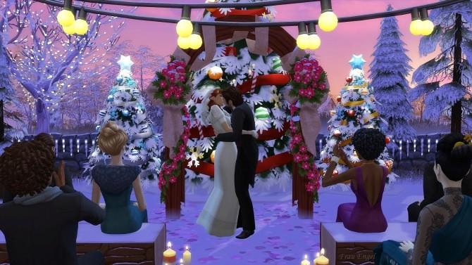 Christmas Wedding venue at Frau Engel image 1033 670x377 Sims 4 Updates