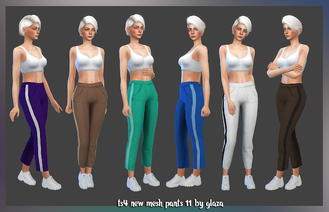 Sims 4 Pants 11 at All by Glaza