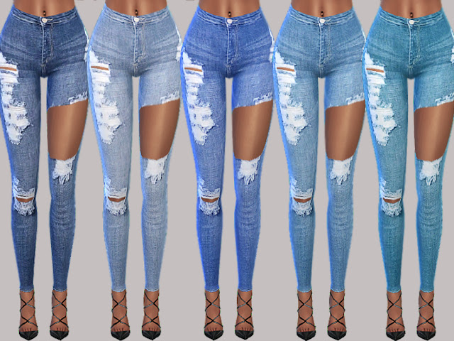 Jessi Denim Jeans at MSQ Sims image 10410 Sims 4 Updates