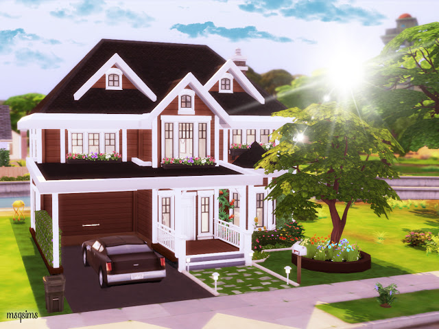 Broadway Street 1111 house at MSQ Sims image 10715 Sims 4 Updates