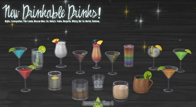 New Year set by Sandy at Around the Sims 4 image 10716 670x366 Sims 4 Updates