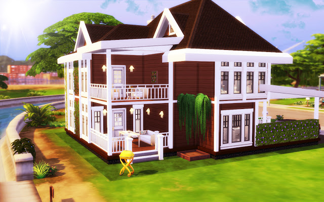 Broadway Street 1111 house at MSQ Sims image 10814 Sims 4 Updates